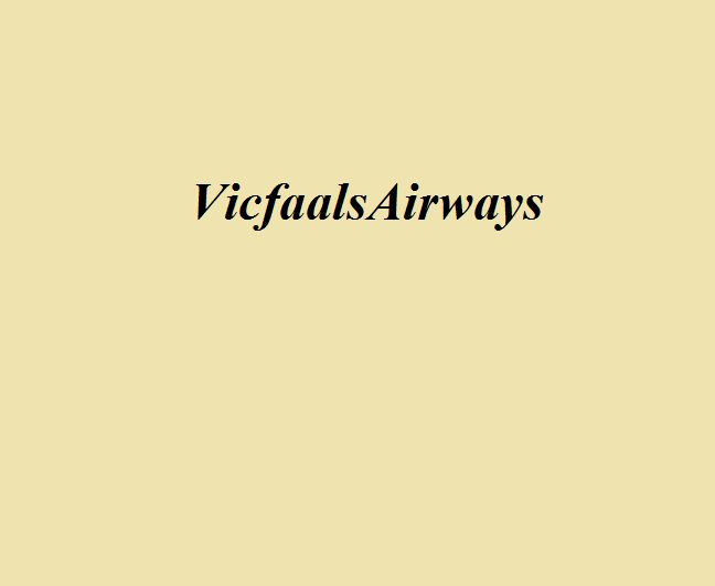 Vicfaals Airways (Викфолз Эйрвэйз)